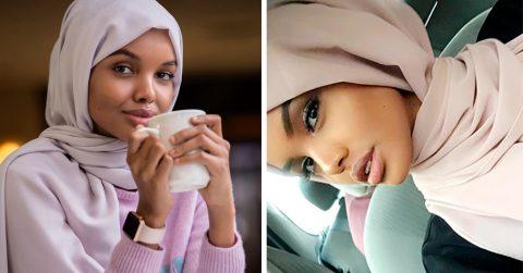 Девушку называют самой сексуальной и красивой моделью исламского мира, хотя сама она на диво скромна