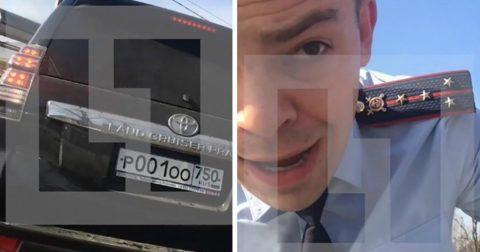 """Быдло в погонах: капитан полиции наехал на водителя """"Оки"""", который не уступил ему дорогу"""