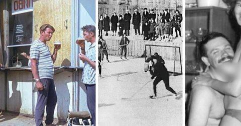 Визит в прошлое: как развлекались мужчины в СССР?