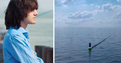 Юный ученый, уверявший, что сможет очистить мировой океан, оказался прав