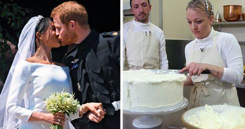 Каким был торт на свадьбе Гарри и Меган. И сколько стоило это удовольствие