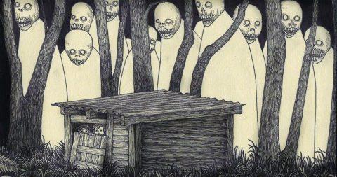 30 иллюстраций, после которых даже взрослым не заснуть без ночника, как в детств